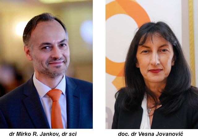 Autori dr Mirko R. Jankov, dr sci i doc. dr Vesna Jovanović