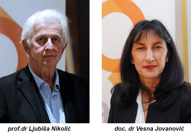 Autori Prof.dr Ljubiša Nikolić, dr sci i doc. dr Vesna Jovanović