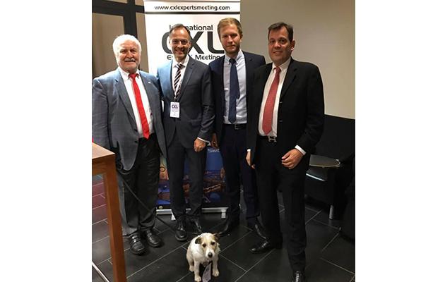 Dr Jankov na kongresu u Švajcarskoj